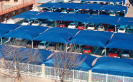We construct shade structures like carports, danpalon, canopies and tents.